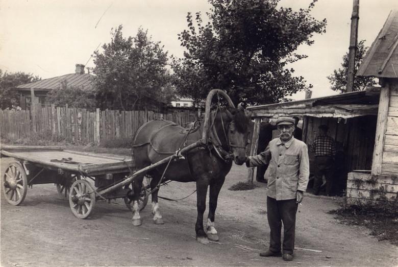 Начальник конного двора Захар Горшков