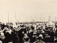 Площадь перед ДК ЗСО