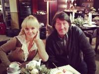 С певицей Валерией
