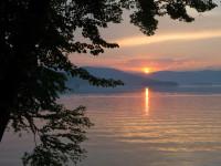 Закат на Ильменском озере 13.06.2014