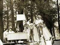 Грушинский фестиваль в Подгорах, 1982г.