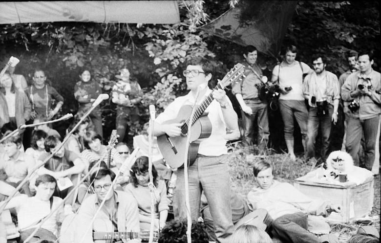Грушинский фестиваль в Подгорах,1982 год