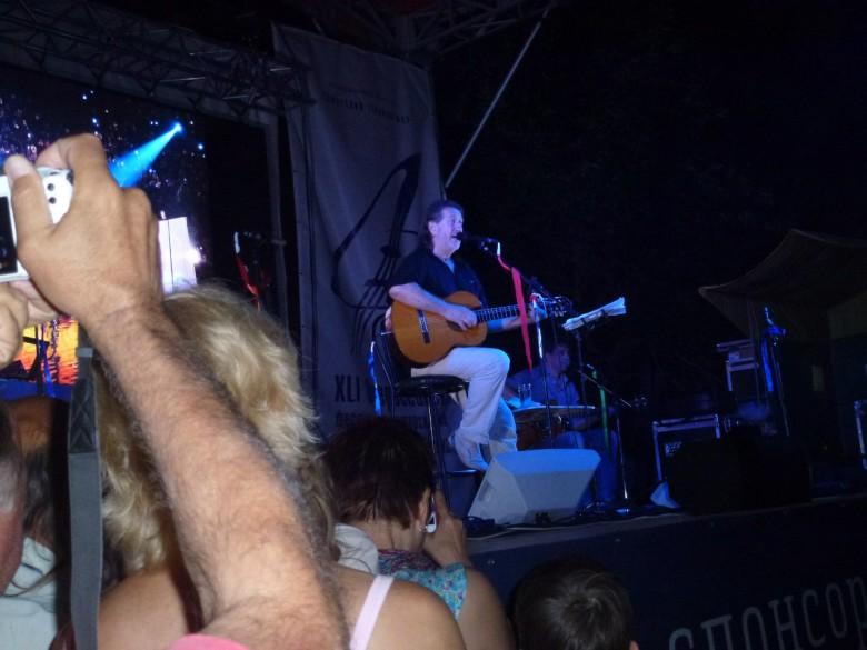 Концерт Олега Митяева 4.07.2014 г.