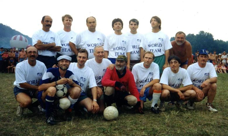 Грушинский футбол 1995 г.