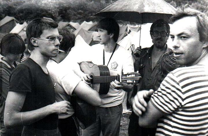 1987 г. Грушинский фестиваль