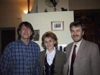 С  В.Усковым и  М.Богдановой