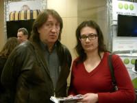 С Анастасией Кузовлёвой