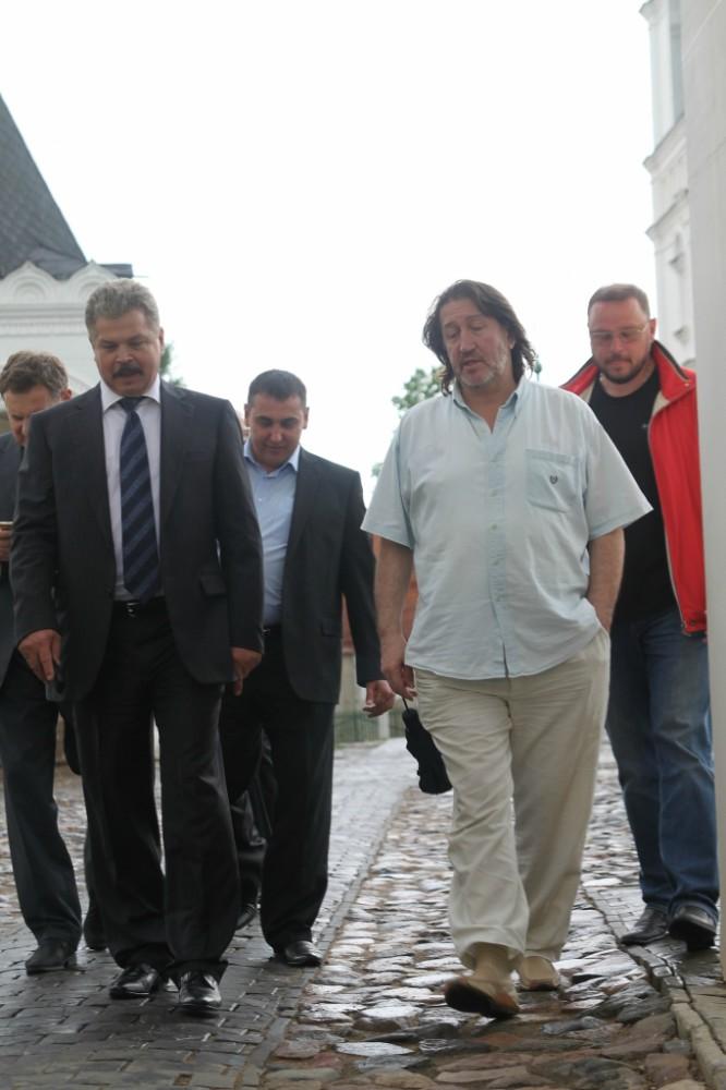 В Ипатьевской слободе.г.Кострома.