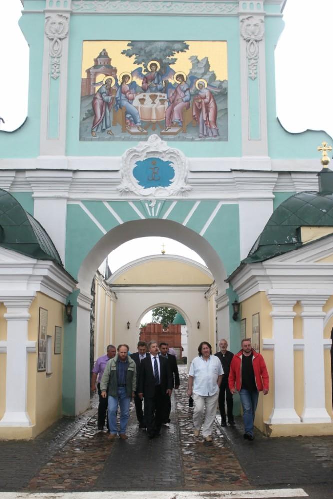 В Ипатьевской слободе.г.Кострома
