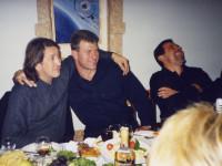 На юбилее Сергея Трофимова. 2003 г.