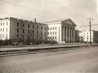 Монтажный техникум. г.Челябинск. 50-е годы.