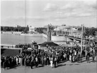 Памятник первооткрывателю Челябинска. 1986 год.