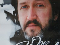 """Рекламный плакат  альбома Олега Митяева """"Романтики больше не будет""""."""