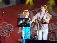 Лариса Брохман и Родион Марченко