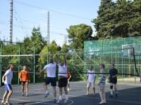 Волейбол на фестивале