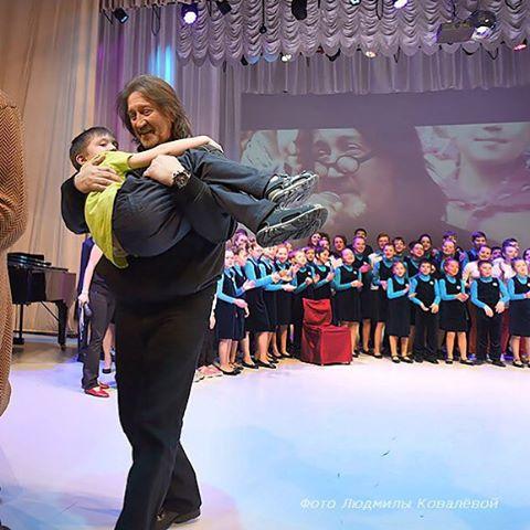 С Олегом Митяевым-младшим