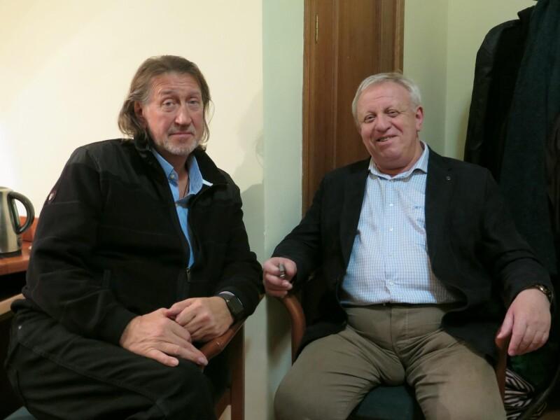 С Вадимом Егоровым
