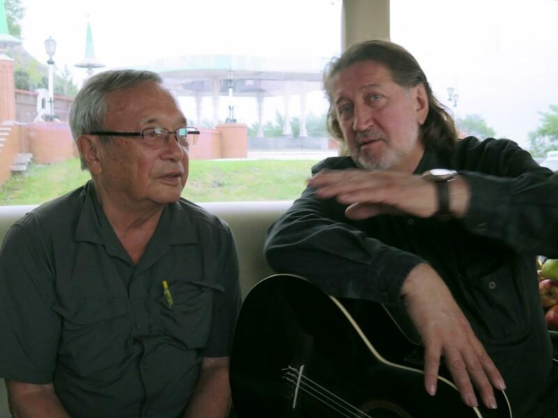 С Юлием Кимом