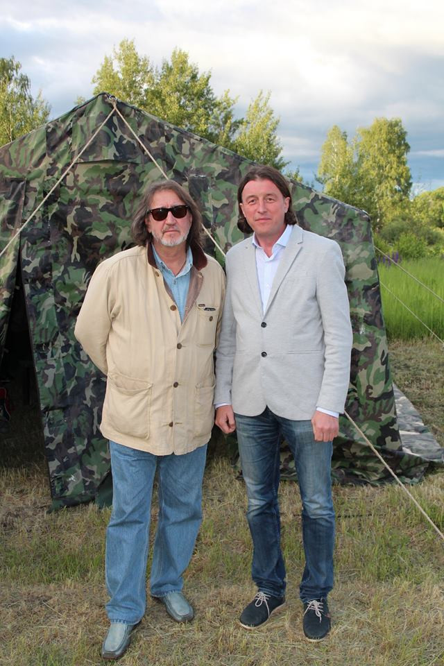С Евгением Фёдоровым