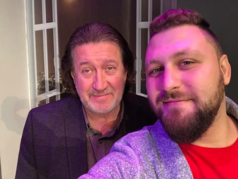 С Павлом Пиковским, 2018 г.