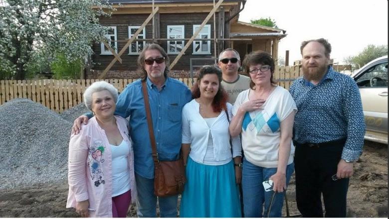 Плёс. Май 2015 г. Олег Митяев навестил своих друзей в Плёсе.