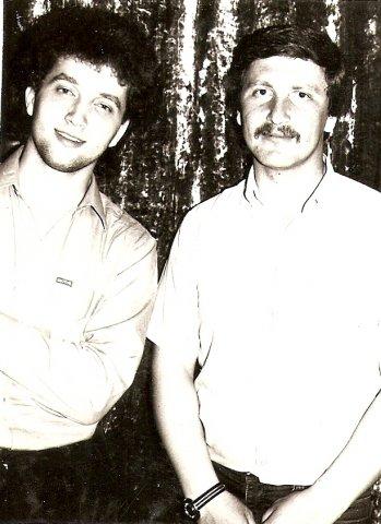 Леонид Марголин и Вадим Байков 1983г.