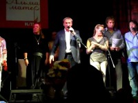 Общая песня участников юбилейного концерта