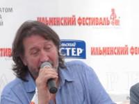 Ильменка-2012. О. Митяев на пресс-конференции