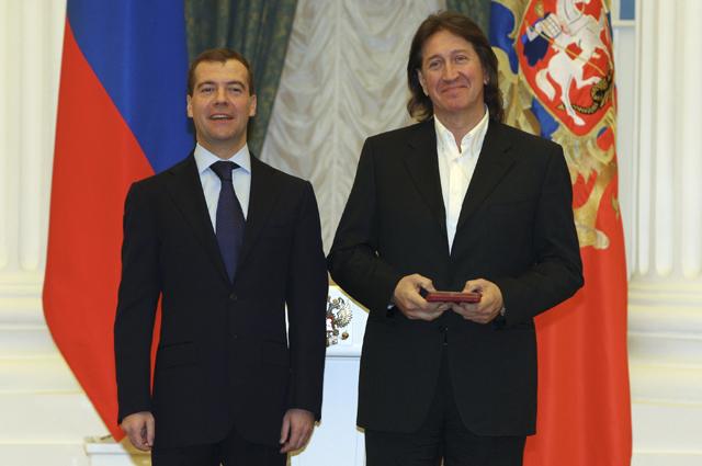В Кремле состоялась церемония вручения государственных наград