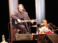 Юбиляр на сцене