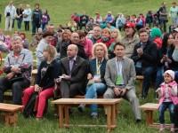 На открытии XL Ильменского фестиваля
