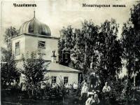 Никольская церковь в монастырской заимке