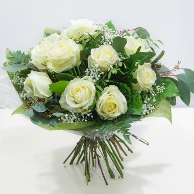 ramo rosas blancas 1