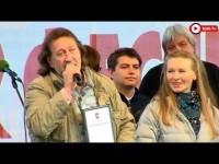 Награждение Олега Митяева на 42 Ильменском фестивале.16.06.2018